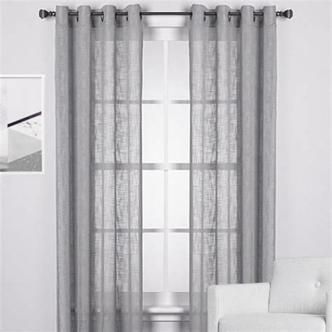 gray walls white curtains the perfect window treatments to match black red and