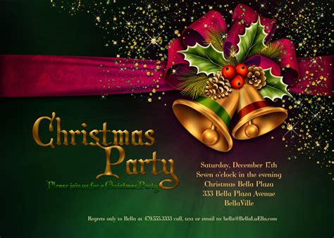 christmas design invitation card christmas party invitations christmas card christmas
