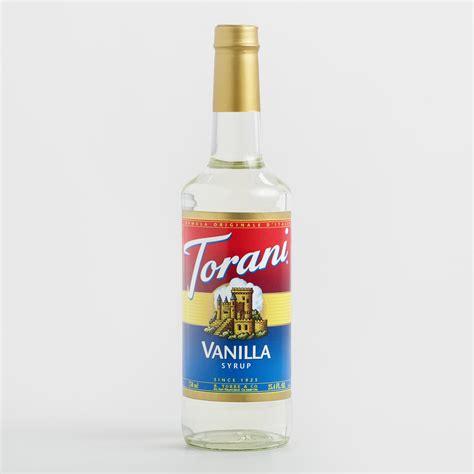 Vanilla Outher torani vanilla syrup world market
