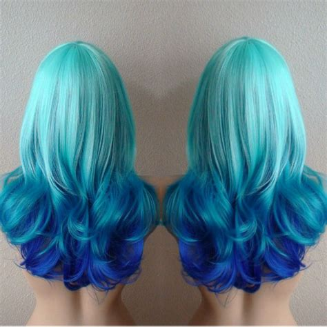 blue green hair color green hair color vpfashion
