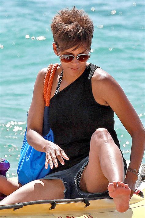 Halle Gets by Halle Berry Getting A Boat In