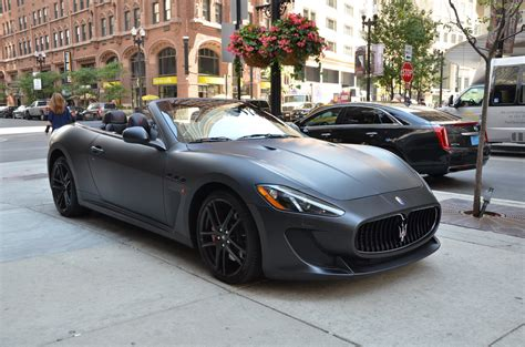 Used Maserati Convertible by 2013 Maserati Granturismo Mc Convertible Sport Stock