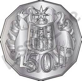 Australian Coins Outline by Lesson Zone Nz Australia Day