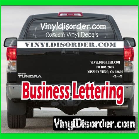Auto Decals For Business by Auto Business Decals