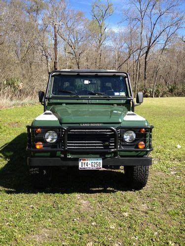 buy car manuals 1997 land rover defender 90 buy used 1997 land rover defender 90 4x4 sport utility 2 door 4 0l in houston texas united