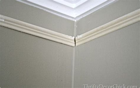 beef     crown molding diy