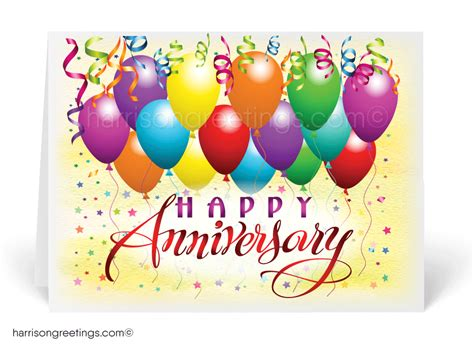 Birthday And Anniversary Cards For Business