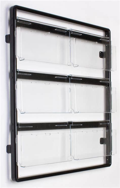 Wall Magazine Racks by Wall Magazine Rack 12 Or 24 Pocket Adjustable