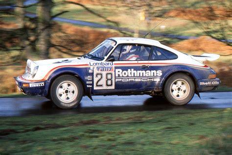 rothmans porsche 911 1984 porsche 911 scrs rothmans unrestored road scholars