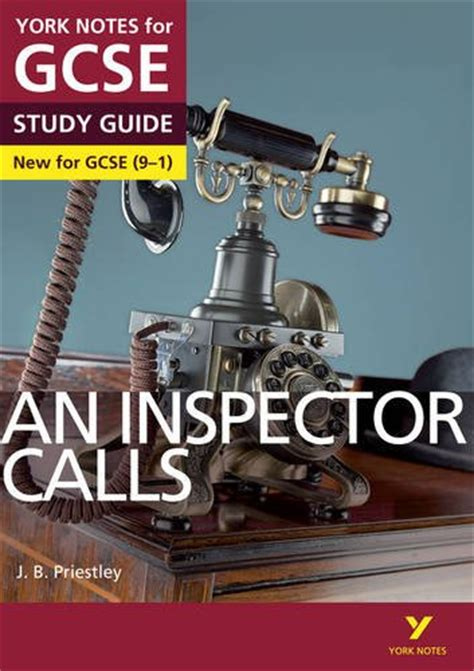 an inspector calls york notes for gcse 9 1 study guide paperback 2015 9781447982166 ebay