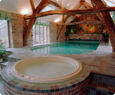 house with pool inside indoor pools