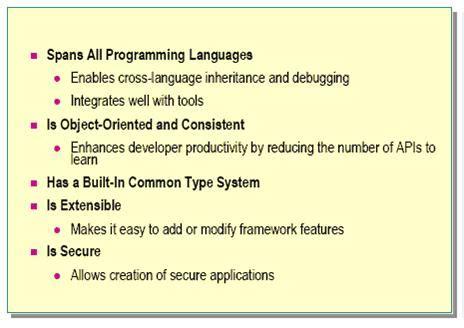 Overview Of The Microsoft Net 171 Microsoft Net