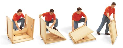 bench careers heavy duty folding work table popular woodworking magazine