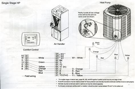 payne air handler wiring diagram