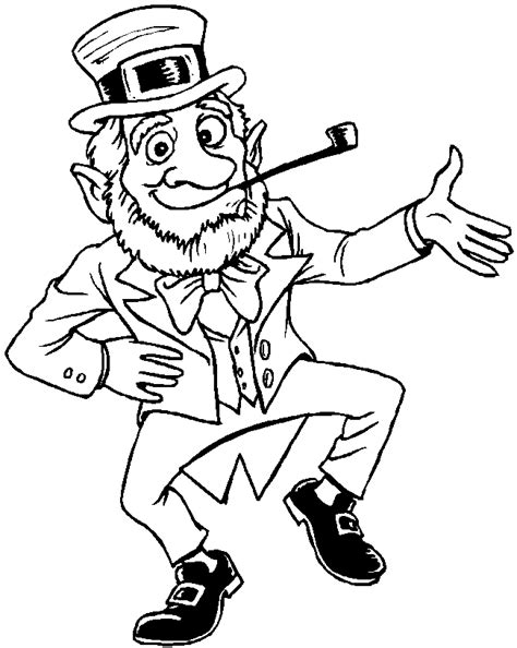 st patrick s day 3 coloring page