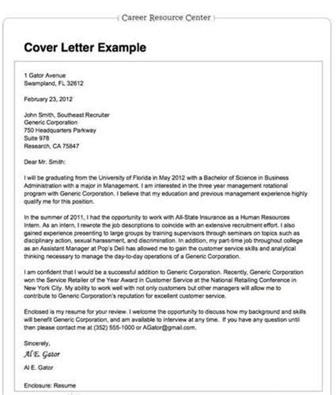 Cover Letter To Specific Person never more than a page for writing a resume cover letter