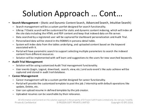 solution approach document template document management system using liferay 7