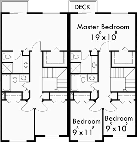duplex row house floor plans 3 bedroom duplex house plans 2 story duplex plans duplex