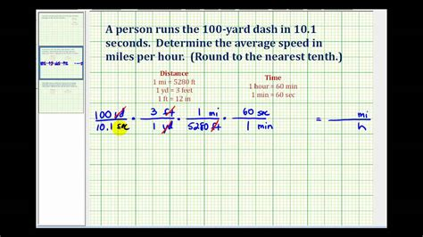 changing meters to ex convert yards per second to per hour