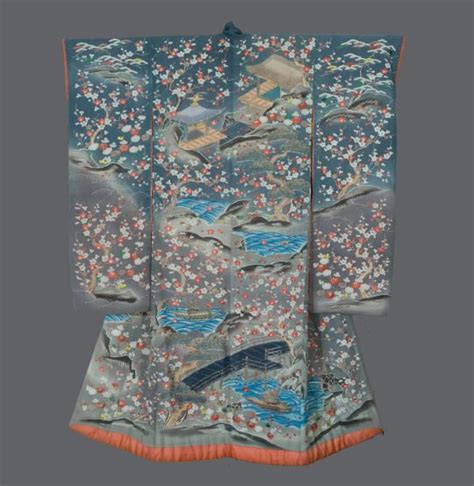 Plum Tree Embroidery Shirt Atasan Wanita 174 best images about uchikake on silk damasks and embroidery