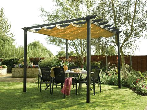 Diy Backyard Shade by Make Your Own Outdoor Canopy Outdoortheme