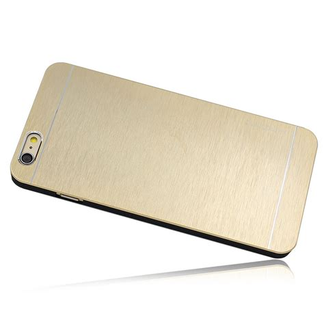 Apple Iphone 6 47 Motomo Luxury Metal Breathable Bumper Cover wholesale motomo metal premium luxury brushed aluminum for 4 7 inch iphone 6 golden