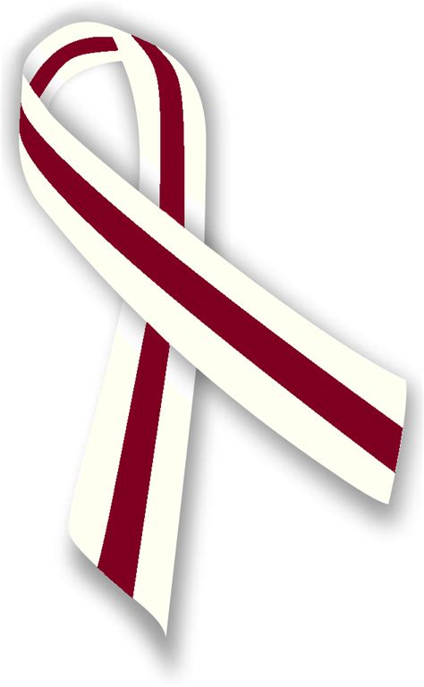 throat cancer ribbon color did you april is cancer awareness month