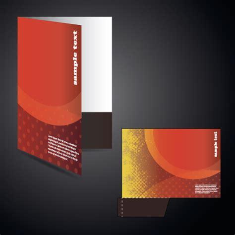 design cover file vector layout folder cover design set 01 vector cover