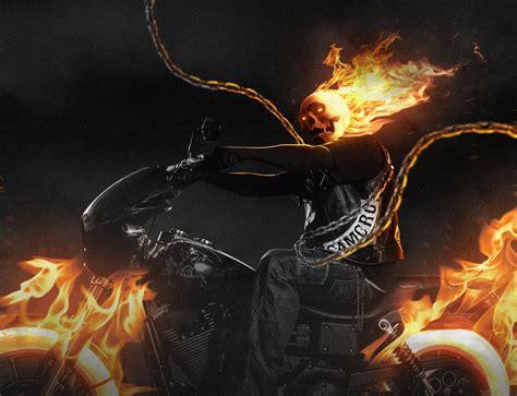 spray paint ghost rider ghost rider soa by litgraphix on deviantart
