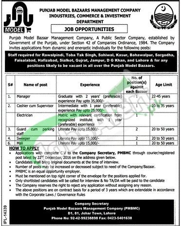 pattern tester jobs jobs in ppsc 2017 labour human resource department