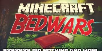 How Do You Craft A Bed In Minecraft Minecraft Bed Wars 4x4x4x4 I Didn T Do Anything And Won