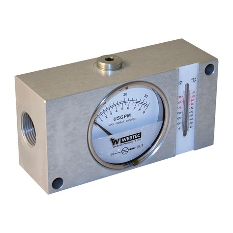 Sale Selang Lu 1 Meter webtec flow meter with thermometer northern tool equipment
