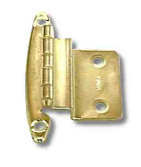 swing free hinges 3 8 quot inset offset free swing hinge bright brass short leaf