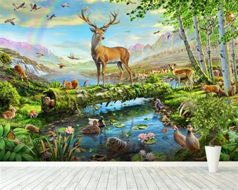 wildlife wall mural wildlife splendor uk wall mural wildlife splendor uk