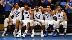 Duke Basketball Team 2015 | duke blue devils have earned number one seed
