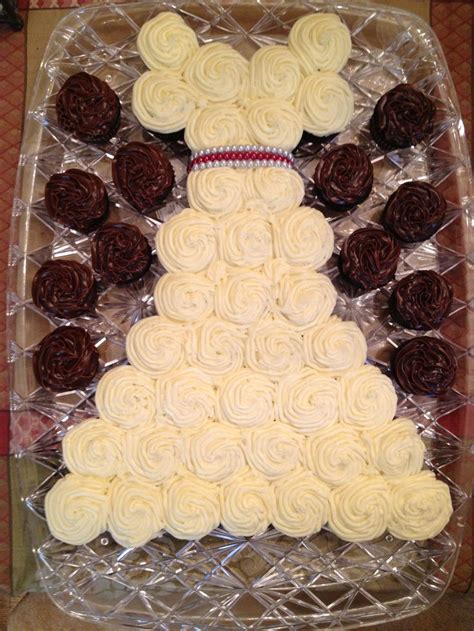 mini cupcakes for wedding shower mini cupcake wedding dress wedding shower
