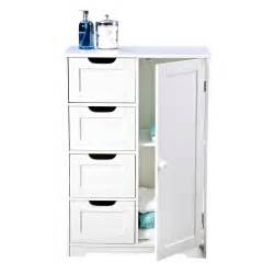 bathroom freestanding cabinet buy sennen freestanding bathroom cabinet at mailshop co uk