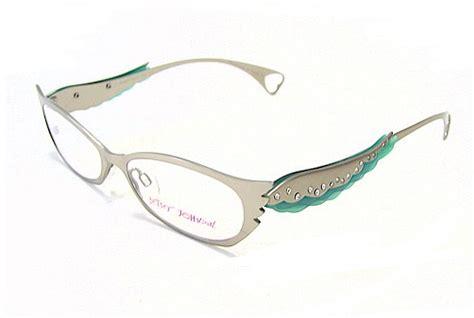 betsey johnson bj 024 eyeglasses bj024 silver