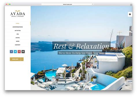 avada theme hotel 30 best hotel apartment vacation home booking