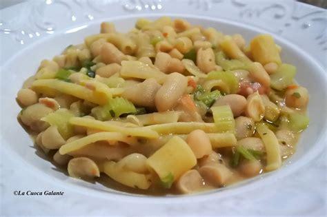 come si cucina la pasta e fagioli pasta e fagioli la cuoca galante cucina napoletana