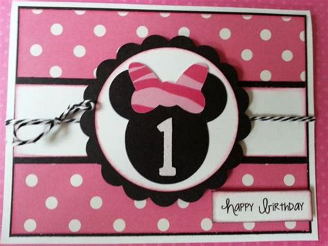 Handmade Minnie Mouse Birthday Cards - best 25 birthday cards ideas on pop out