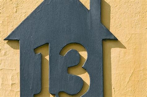 buy house numbers online when it comes to buying a house at number 13 we are less superstitious than the