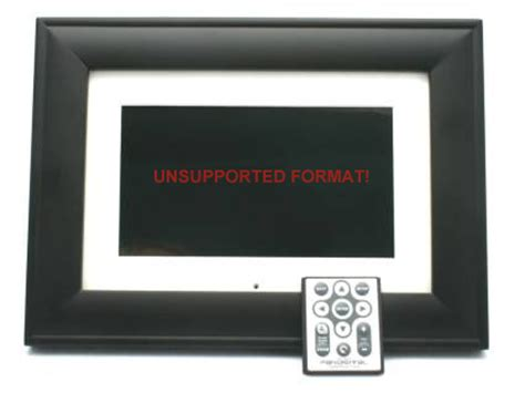 unsupported format on dvd player pandigital unsupported format fix not supported image