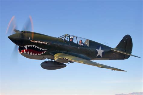 Planes you'd like to see added in the future ... P 40 Warhawk