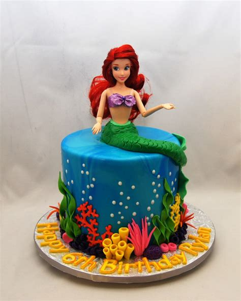 Little Mermaid Cake     Cake in Cup NY