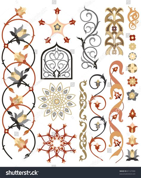 islamic pattern vector ai islamic art pattern stock vector 81127300 shutterstock