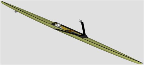 empacher sculling boat aluminum wing rigger sweep and sculling empacher north