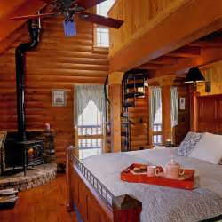 cozy up in a log home bedroom 171 real log style