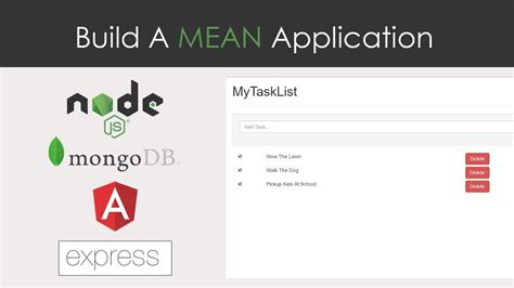 node js full tutorial mean stack application tutorial build a mean application