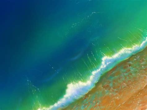 desktop wallpaper green ocean sea waves aerial view